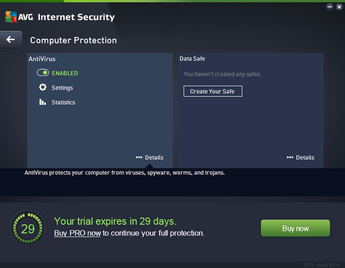 Screenshot 3 of AVG Internet Security - Unlimited