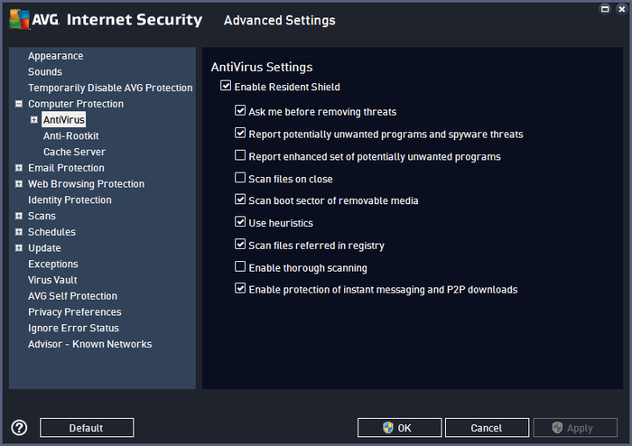 Screenshot 2 of AVG Internet Security - Unlimited