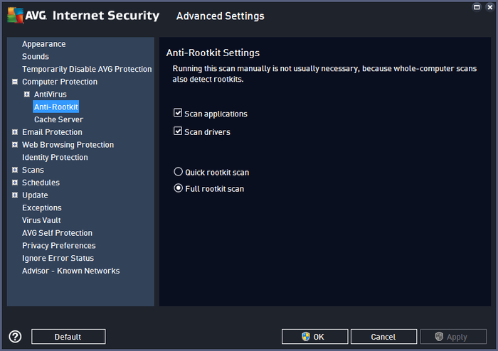 Screenshot 6 of AVG Internet Security - Unlimited