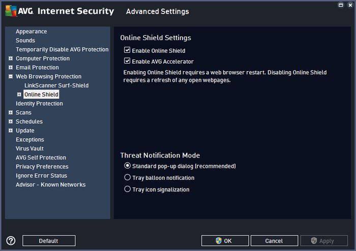 Screenshot 1 of AVG Internet Security - Unlimited