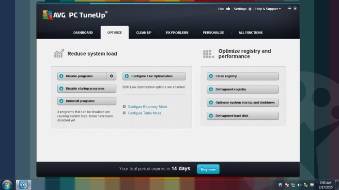 Screenshot 5 of AVG TuneUp