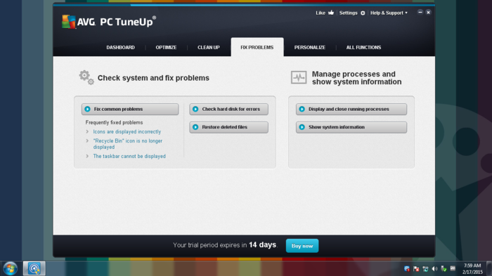 Screenshot 7 of AVG TuneUp