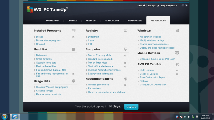 Screenshot 8 of AVG TuneUp