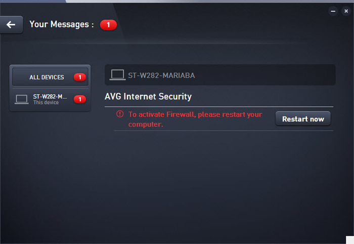 Screenshot 1 of AVG Protection