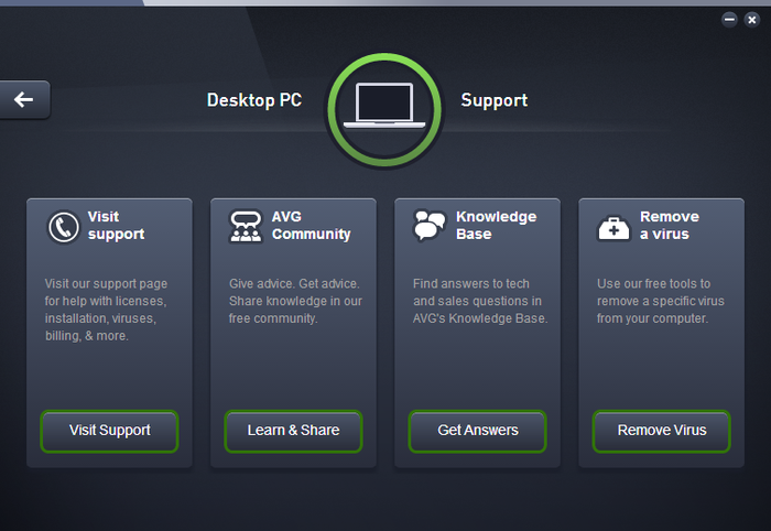 Screenshot 1 of AVG Zen