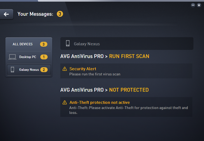 Screenshot 4 of AVG Zen