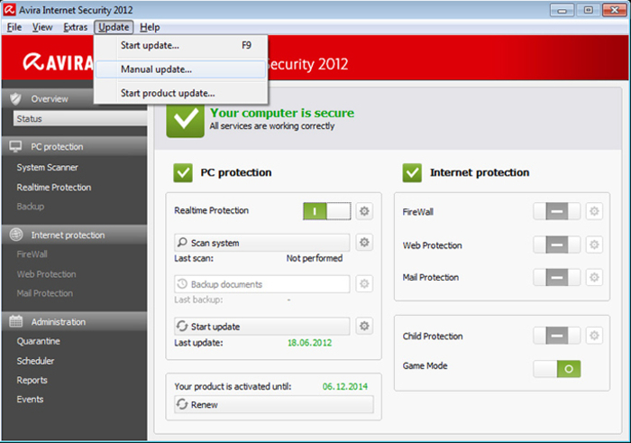 Screenshot 1 of Avira Fusebundle Generator