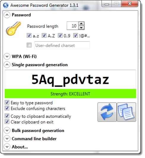 Screenshot 4 of Awesome Password Generator