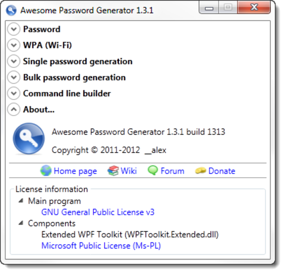 Screenshot 3 of Awesome Password Generator