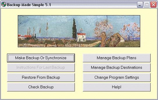 Screenshot 2 of Backup Made Simple