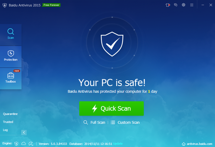 Screenshot 2 of Baidu Antivirus