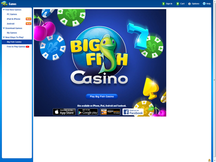 Big fish game manager download.