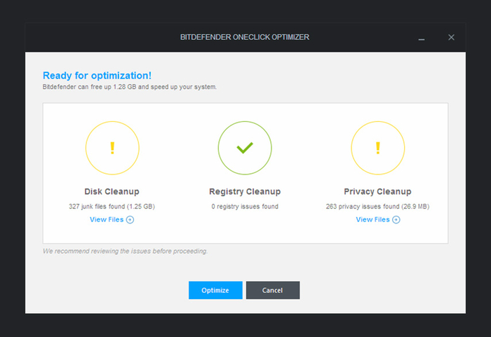 Screenshot 4 of Bitdefender Total Security