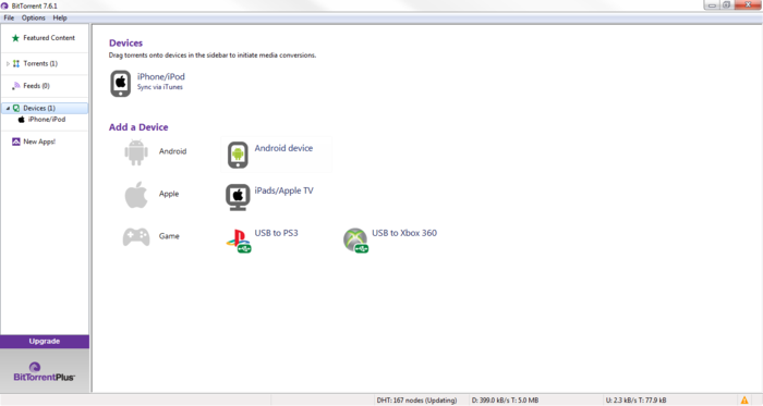 Screenshot 2 of BitTorrent
