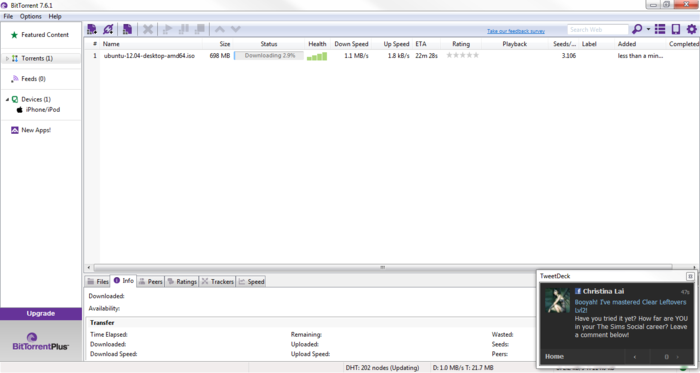 Screenshot 7 of BitTorrent