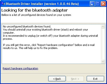 Screenshot 1 of Bluetooth Driver Installer
