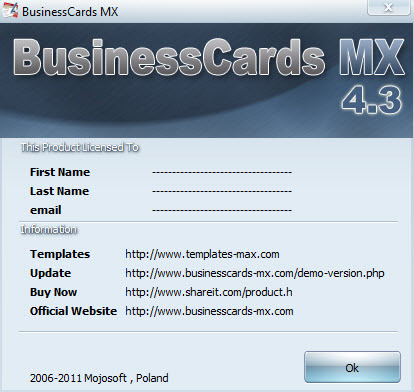Businesscards mx full free download gallery card design and card businesscards mx serial code image collections card design and mojosoft business cards download image collections card reheart