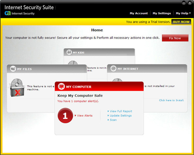 Screenshot 3 of CA Anti-Virus Plus