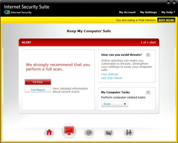 Screenshot 5 of CA Anti-Virus Plus