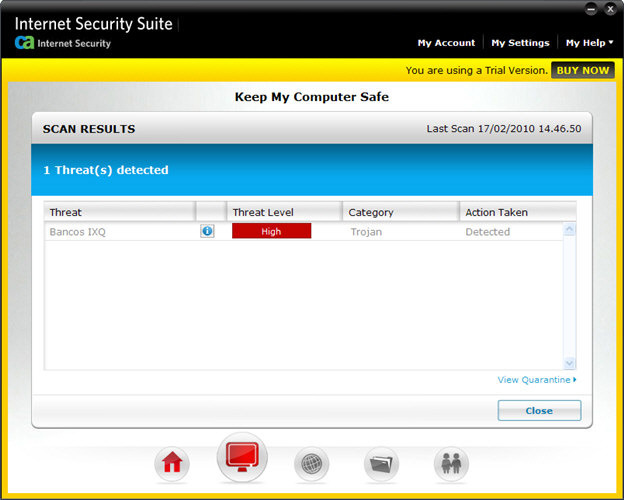 Screenshot 4 of CA Anti-Virus Plus