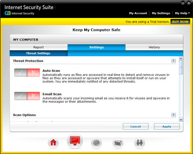 Screenshot 2 of CA Anti-Virus Plus