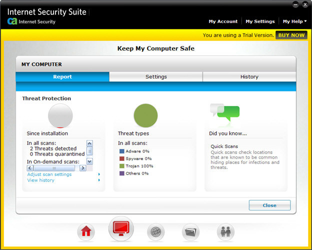 Screenshot 6 of CA Anti-Virus Plus