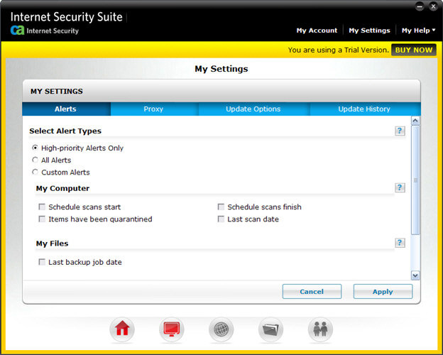 Screenshot 8 of CA Anti-Virus Plus