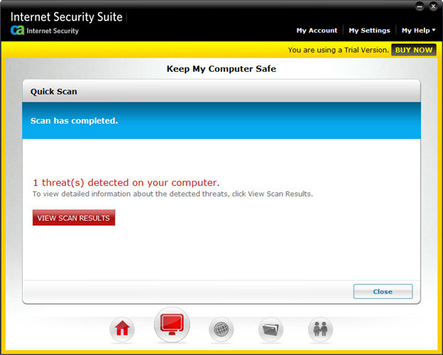 Screenshot 9 of CA Anti-Virus Plus