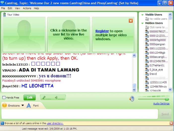 Screenshot 5 of Camfrog Video Chat