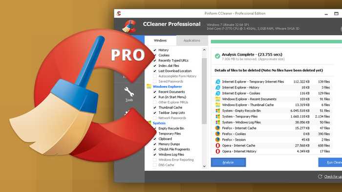 Screenshot 4 of CCleaner Professional
