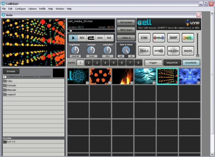 Download Cell VJ free — NetworkIce com
