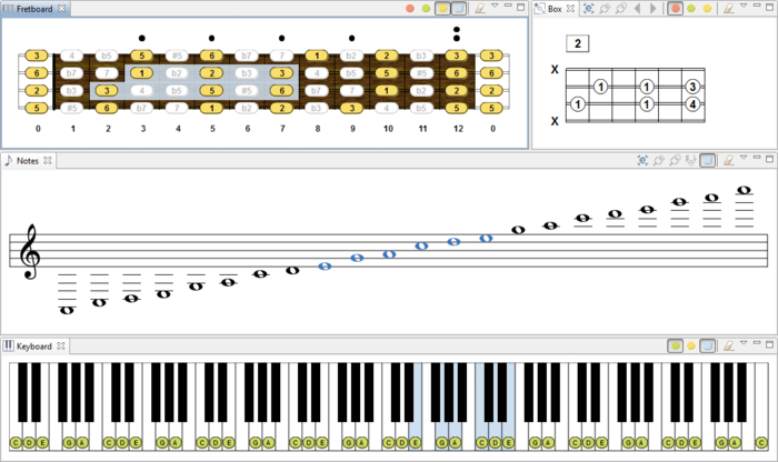 Download Chord Scale Generator free — NetworkIce.com