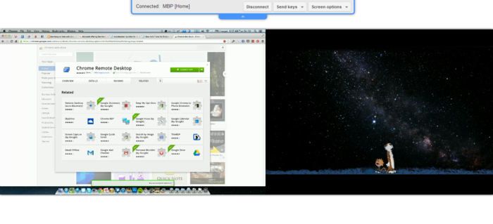 Screenshot 2 of Chrome Remote Desktop