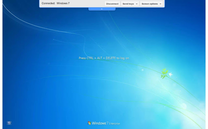 Screenshot 1 of Chrome Remote Desktop