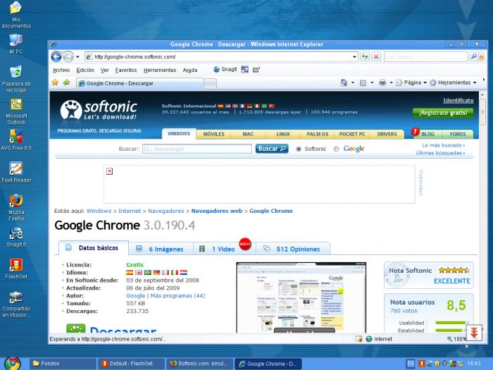 free chrome browser for windows 7
