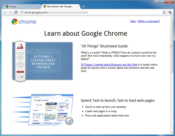 Screenshot 11 of Google Chrome