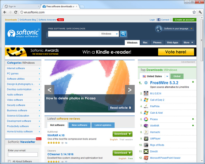 Screenshot 12 of Google Chrome