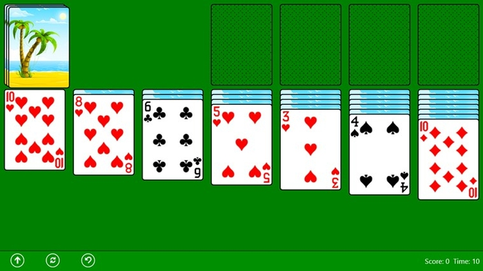 Screenshot 3 of Classic Solitaire (Free) for Windows 10