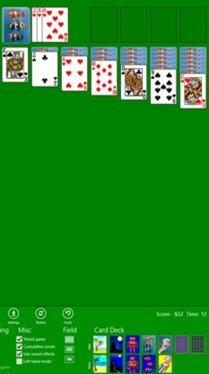 Screenshot 2 of Classic Solitaire (Free) for Windows 10