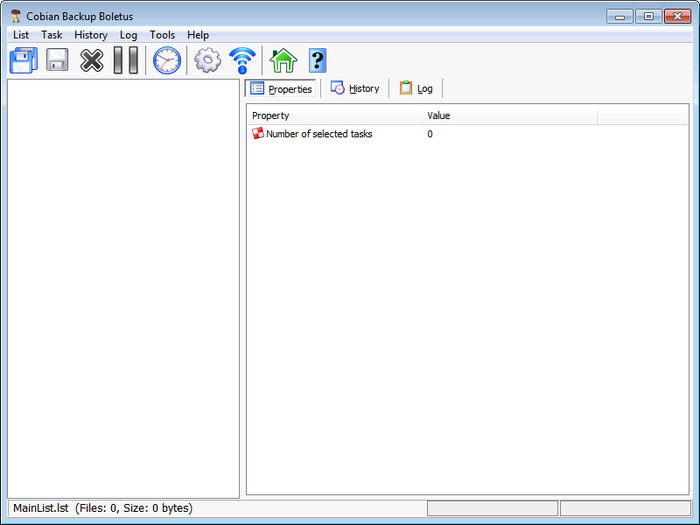 Screenshot 1 of Cobian Backup