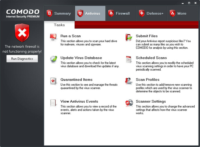 Screenshot 6 of Comodo Internet Security