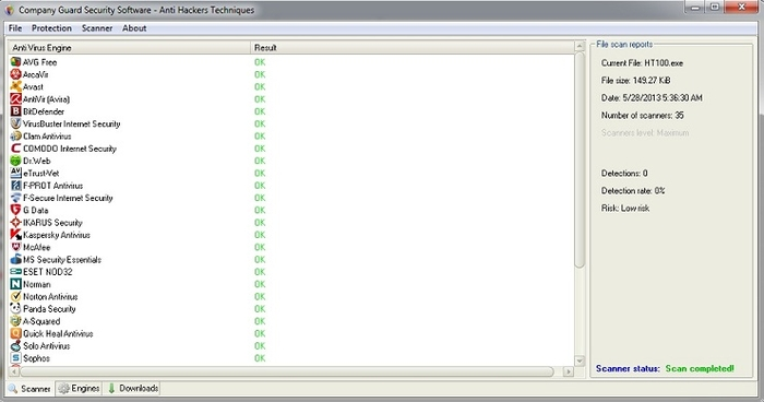 Screenshot 3 of Company Guard Security Software