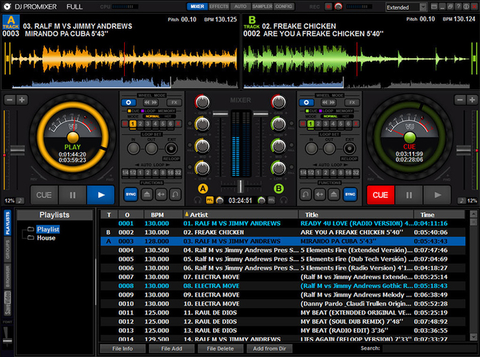 Dj mixer software free download for pc full version.