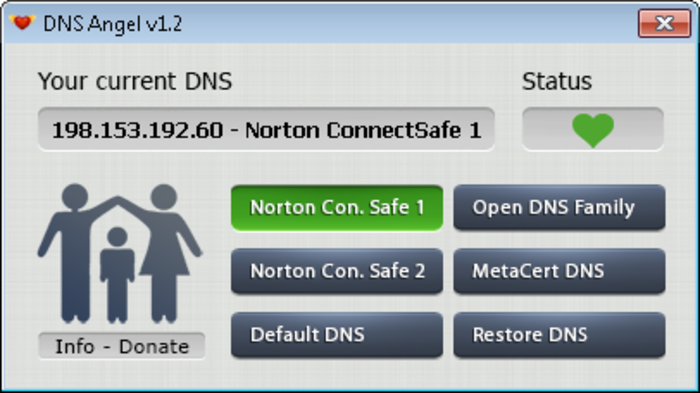 Screenshot 1 of DNS Angel