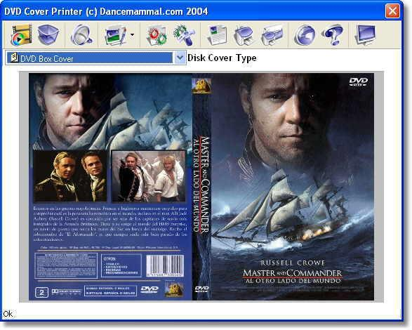 dvd cover printing software