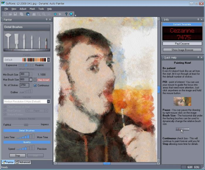 Download Dynamic Auto-Painter free — NetworkIce.com