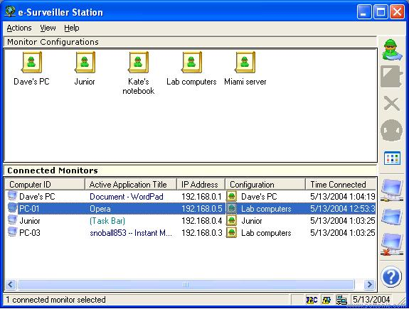 Screenshot 1 of e-Surveiller