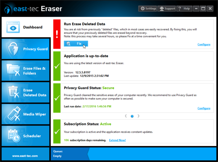 Screenshot 4 of east-tec Eraser