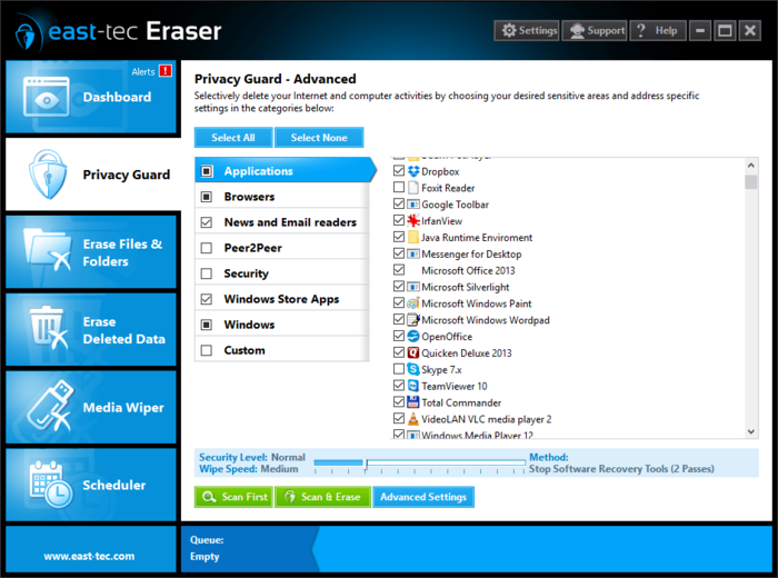 Screenshot 2 of east-tec Eraser