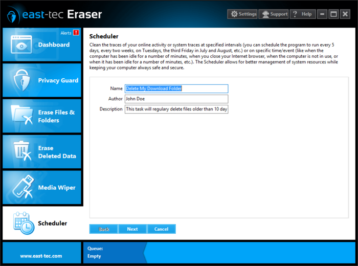 Screenshot 1 of east-tec Eraser
